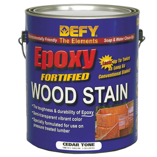 DEFY Epoxy Fortified Professional Wood Stain, Gallon